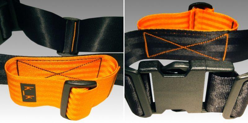 bicolor orange.