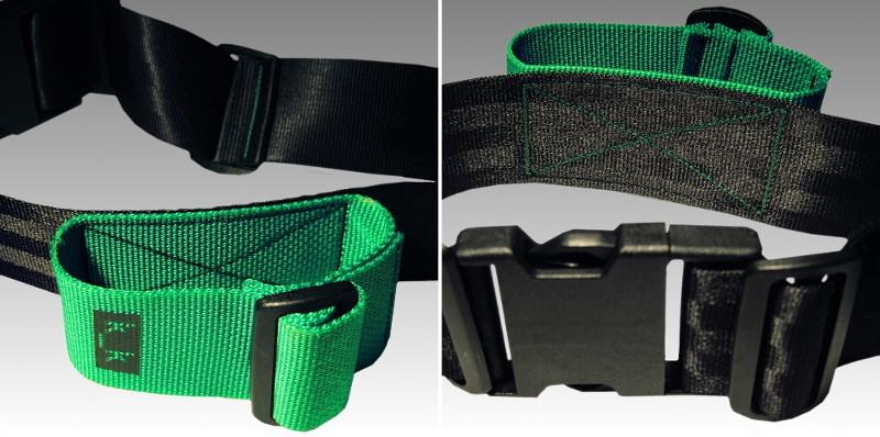 schwarz / grün.
