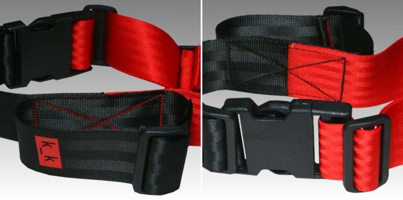 schwarz / rot.