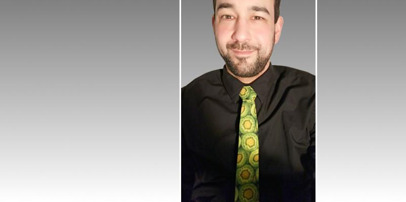 Kiwikirsch-Krawatte.