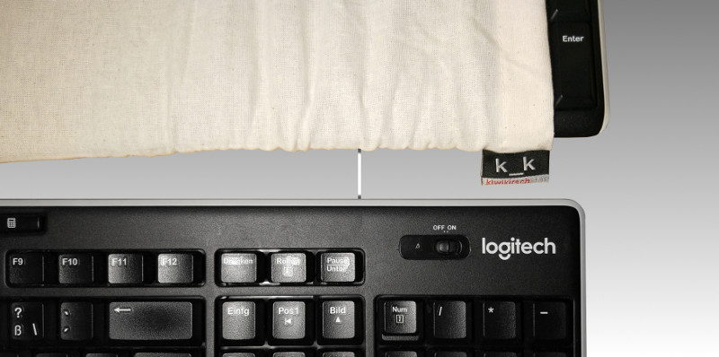 Tastatur-Bezug.
